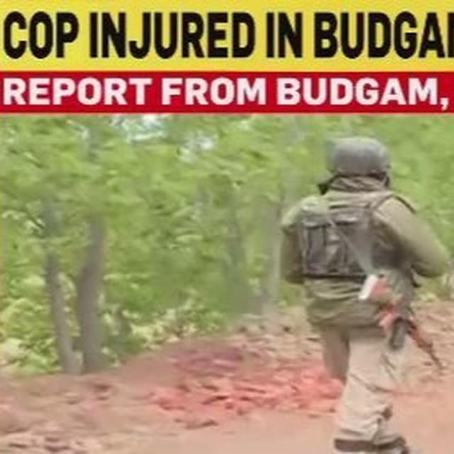 WATCH: STONE-PELTING ON POLLING DAY IN J&K'S BUDGAM