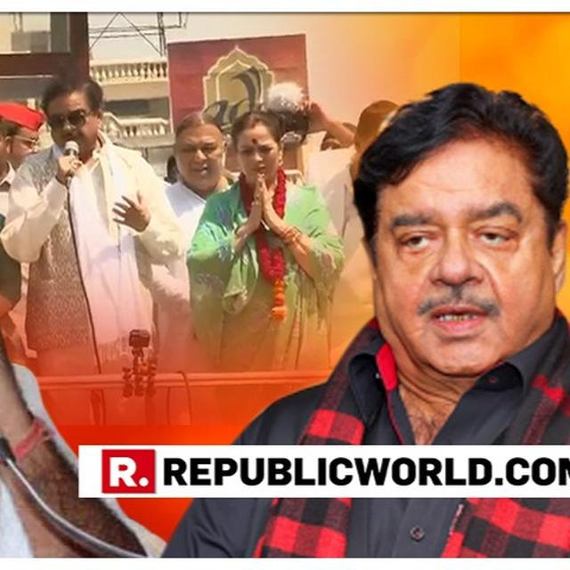 WATCH: HERE'S SHATRUGHAN SINHA'S RESPONSE TO PARTYMATE PRAMOD KRISHNAM'S 'PARTY DHARMA BEFORE PATNI DHARMA' REMARK ON HIS CROSSING PARTY LINES TO CAMPAIGN FOR WIFE POONAM SINHA