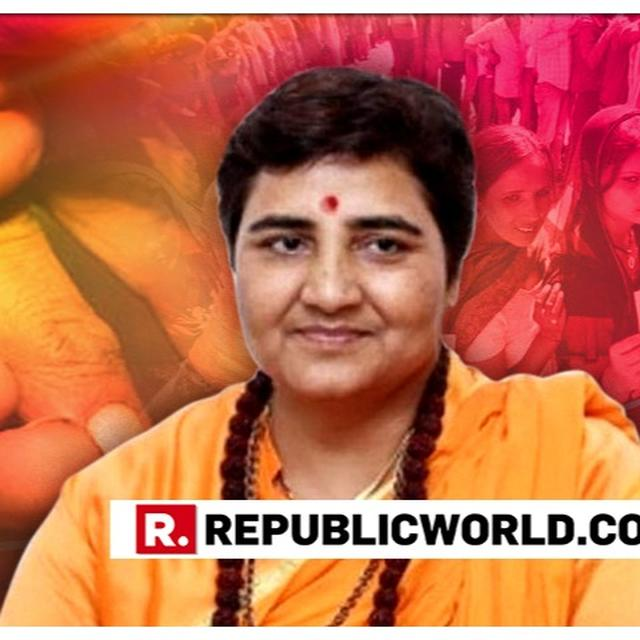 "WATCH: SADHVI PRAGYA RESPONDS TO OPPOSITION'S 'TERROR' TAG, SAYS ""THEY ARE BOTHERED BECAUSE THEY TRIED TO KILL ME BUT I SURVIVED"""