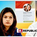 PRIYANKA CHATURVEDI REMOVES 'CONVENOR - AICC COMMUNICATIONS' TAG FROM HER TWITTER BIO AFTER ATTACKING HER OWN PARTY OVER PREFERENCE TO 'LUMPEN GOONS', SPECULATION OF EXIT GROWS