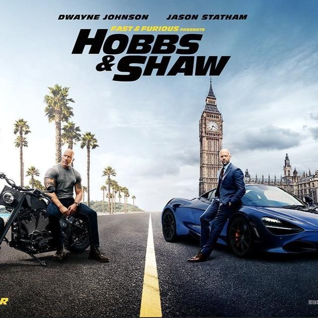 'LET'S GET OLD SCHOOL': WITH THE ROCK CHAINING A FLYING CHOPPER TO ROMAN REIGNS SHOWING UP AS HIS BROTHER, THE NEW 'HOBBS AND SHAW' TRAILER IS PACKED WITH ACTION