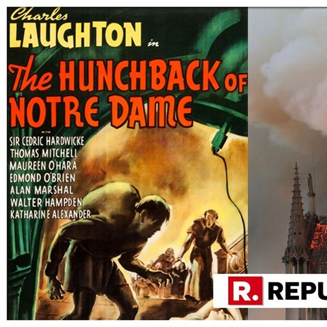 US THEATRE CHAIN TO SCREEN 'HUNCHBACK OF NOTRE DAME'AFTER PARIS CATHRDRAL BLAZE