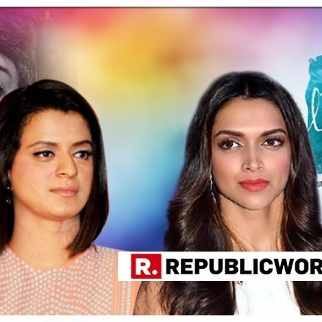 RANGOLI CHANDEL FIRES ASTONISHING LOW BLOW AT DEEPIKA PADUKONE OVER 'MENTAL HAI KYA' CONTROVERSY, ADDS THAT HER FOUNDATION WILL MAKE KANGANA ITS AMBASSADOR AFTER THE FILM