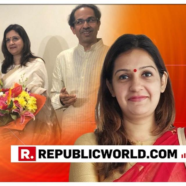 HERE'S WHAT PRIYANKA CHATURVEDI SAID IN RESPONSE TO AADITYA THACKERAY'S 'WELCOME TO THE SHIV SENA MESSAGE'