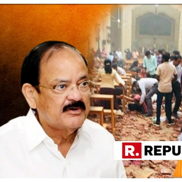 VICE PRESIDENT VENKAIAH NAIDU, EAM SUSHMA SWARAJ AND OTHER INDIAN LEADERS CONDEMN SRI LANKA BLASTS AND ISSUE CONDOLENCES: ALL STATEMENTS HERE