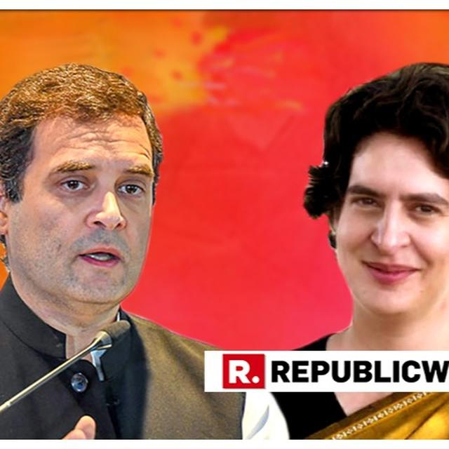 WATCH: PRIYANKA GANDHI CONCURS TO HER VARANASI CANDIDATURE PINNING THE RESPONSIBILITY ON BROTHER RAHUL GANDHI, SAYS 'HAPPY TO CONTEST IF CONGRESS PRESIDENT TELLS ME'