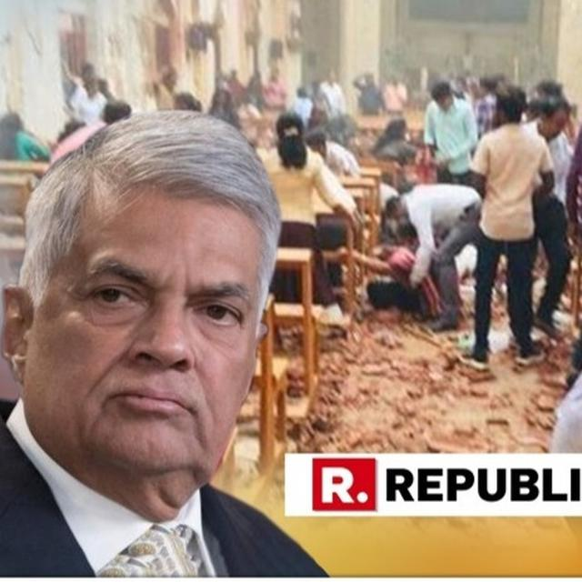 WATCH | SRI LANKA PM RANIL WICKREMESINGHE ISSUES A STATEMENT ON THE HORRIFIC TERROR ATTACK IN THE COUNTRY WHICH KILLED OVER 150