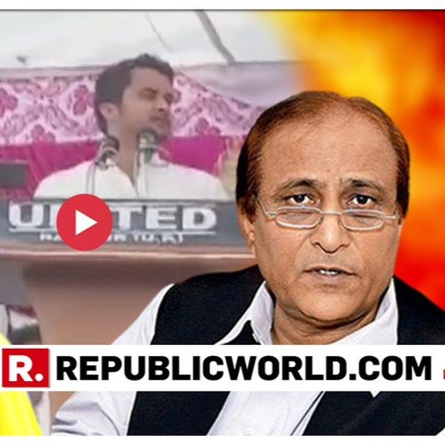 WATCH: NOW, AZAM KHAN'S SON ABDULLAH MAKES DISGRACEFUL 'ALI-BAJRANGBALI-ANARKALI' COMMENT AGAINST JAYA PRADA