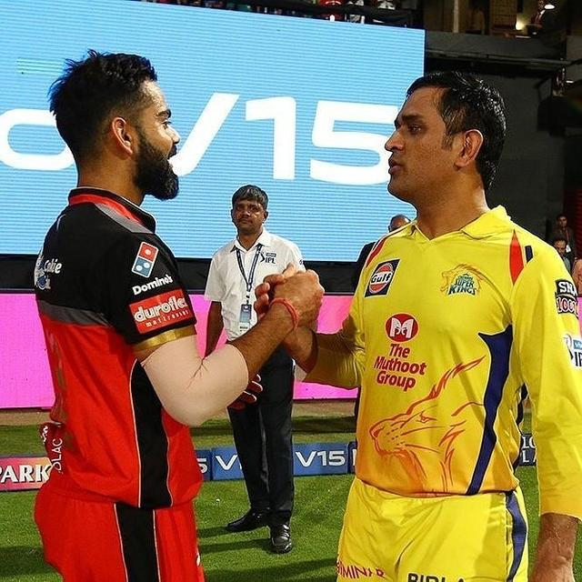 HERE'S WHAT VIRAT KOHLI SAID ABOUT MS DHONI AFTER RCB'S THRILLING WIN OVER CSK