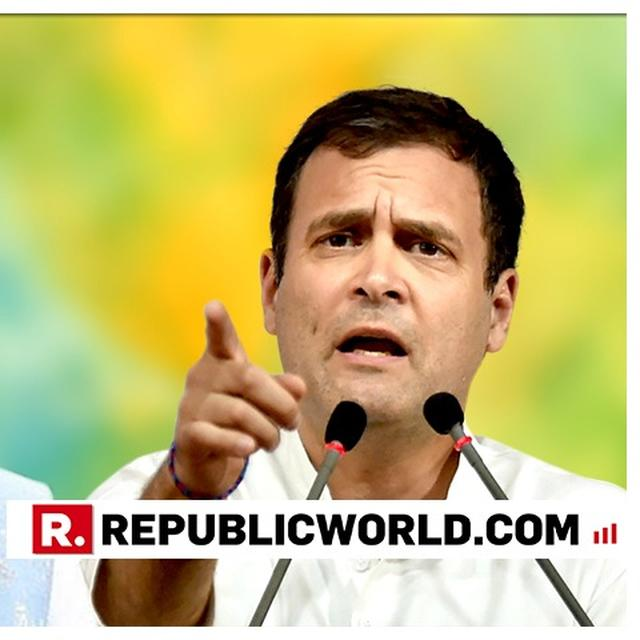 IT WILL BE DECIDED IN PEOPLE'S COURT THAT 'LOTUS BRAND CHOWKIDAR' IS INDEED THIEF: RAHUL