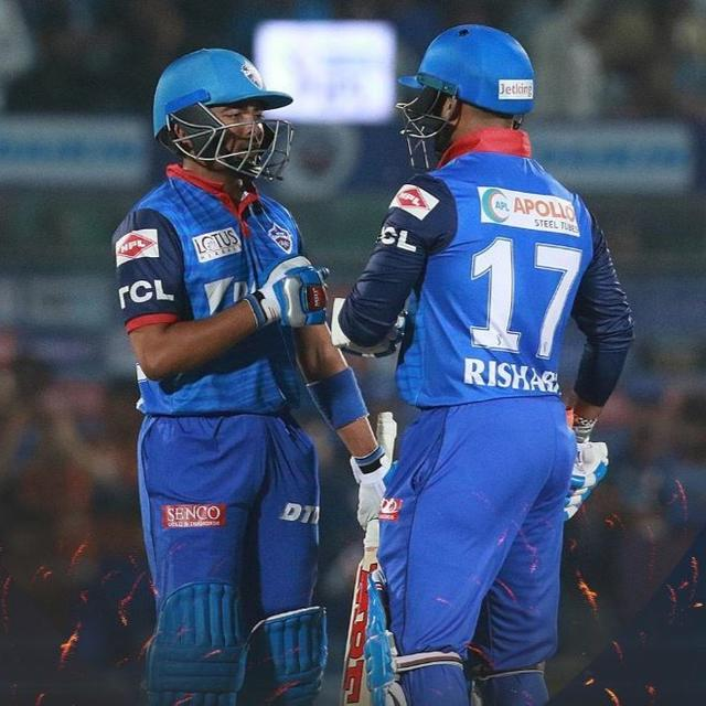 RISHABH PANT FIRES DELHI CAPITALS TO SIX-WICKET WIN OVER RAJASTHAN, GO TOP OF TABLE
