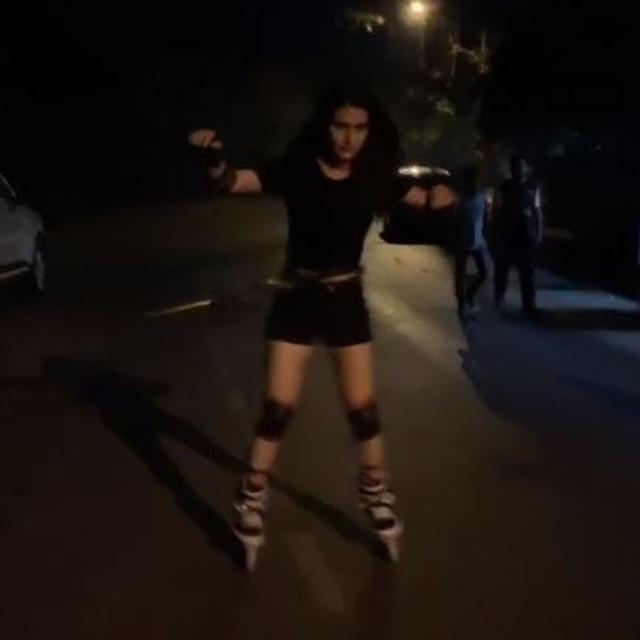 WATCH: 'DID SHE FALL?', 'WHERE IS THE HELMET?', NETIZENS ASK AFTER FATIMA SANA SHAIKH'S 'FITNESS STUNT' VIDEO GOES VIRAL