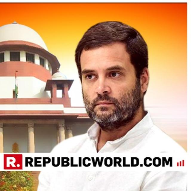 SC EXEMPTS RAHUL GANDHI FROM PERSONALLY APPEARING IN CONTEMPT PLEA HEARING ON APRIL 30