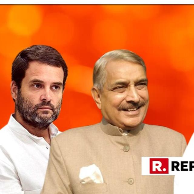 WATCH: CONGRESS PICKS UP WHERE ITS PARTY CHIEF LEFT OFF, PRAMOD TIWARI REPEATS RAHUL GANDHI'S 'MURDER-ACCUSED' ATTACK AT AMIT SHAH