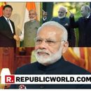INDIA'S MIGHT ACKNOWLEGED GLOBALLY BECAUSE OF MY FOREIGN TRIPS: PM NARENDRA MODI