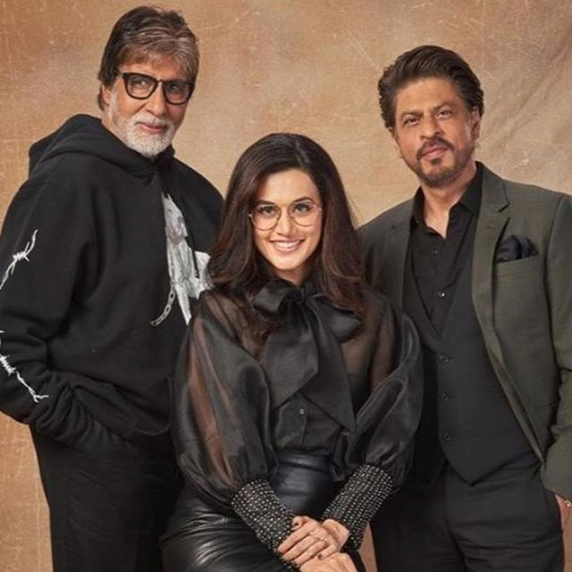 'BADLA' ACCOMPLISHES 50 DAYS AT THE BOX OFFICE: TAAPSEE PANNU POSTS QUIRKY SUPERHERO-INSPIRED TWEET, SHAH RUKH KHAN TOO HAS A SPECIAL MESSAGE FOR HIS TEAM