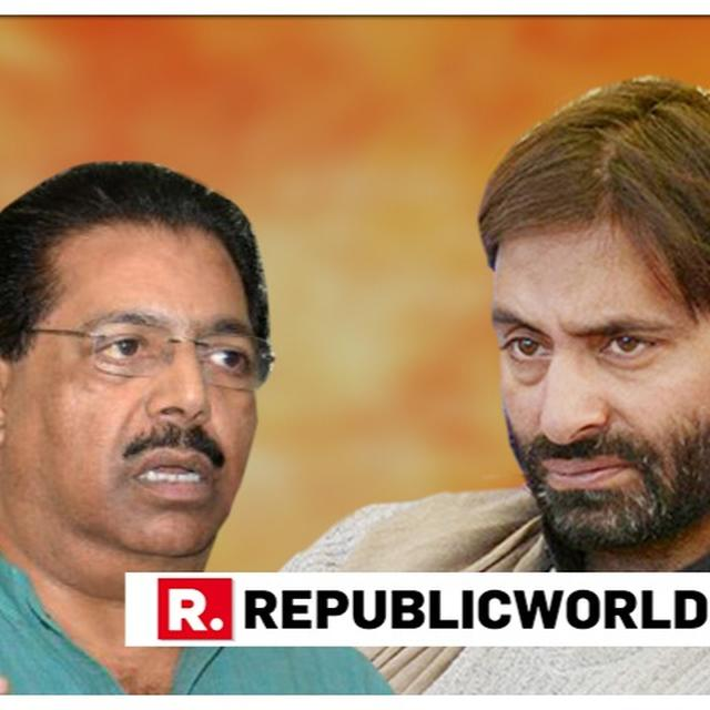 WATCH: CONG INSISTS YASIN MALIK'S COURAGE MUST BE PRAISED