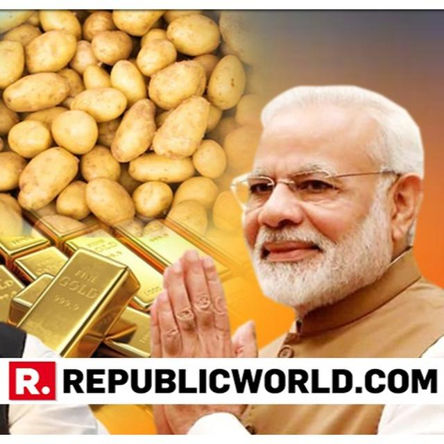 MUST WATCH: PM'S RESPONSE TO RAHUL'S 'POTATOES TO GOLD' PROMISE