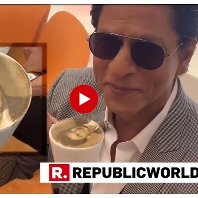 WATCH: SHAH RUKH KHAN'S HILARIOUS TAKE ON 'SELFIECCINO' — A COFFEE WITH YOUR FACE ON IT WILL LEAVE YOU IN SPLITS