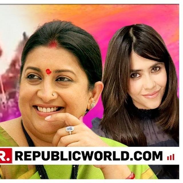 WATCH: 'GO KILL IT', PRODUCER-DIRECTOR EKTA KAPOOR GIVES A SHOUT-OUT TO UNION MINISTER SMRITI IRANI FOR LOK SABHA ELECTIONS 2019