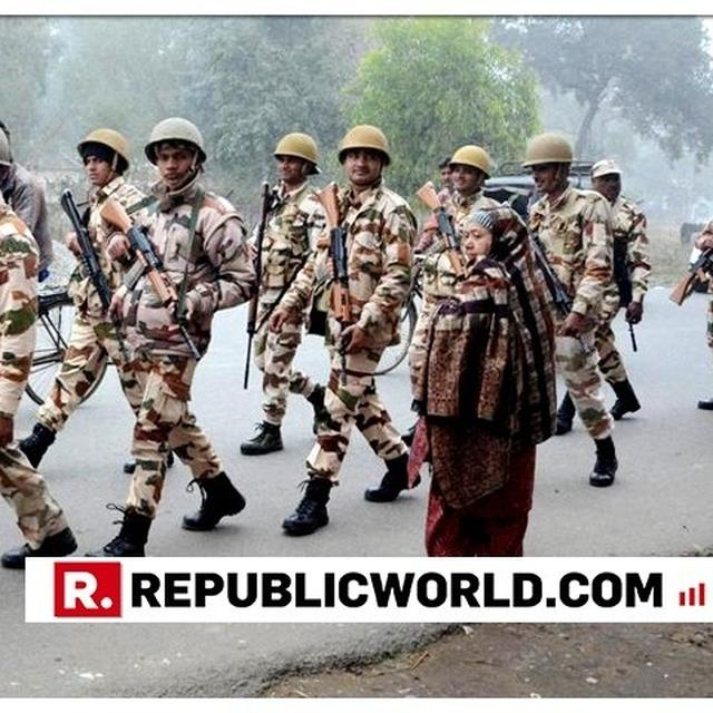 2.7 LAKH PARAMILITARY, 20 LAKH STATE POLICE DEPLOYED FOR LOK SABHA POLLS