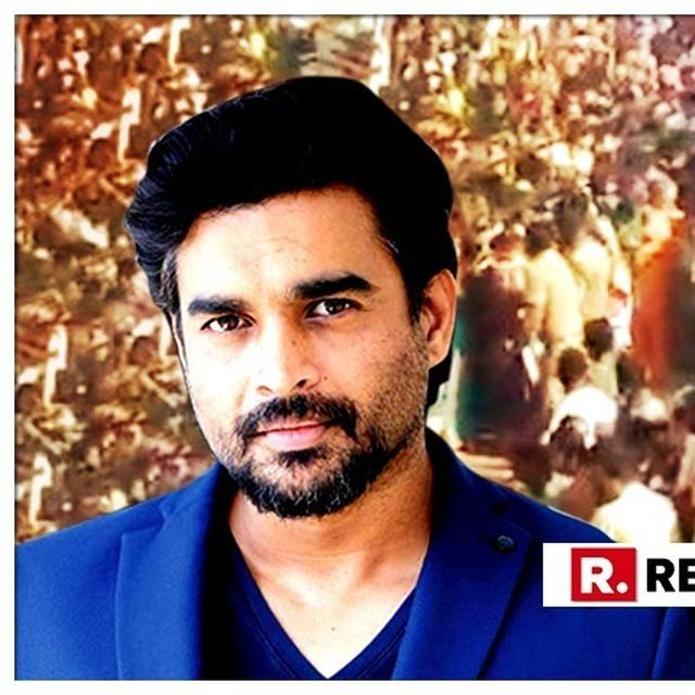 R MADHAVAN GIVES FITTING 'GET WELL SOON' REPLY TO A PERSON WHO MOCKED VIRAL VIDEO OF A RELIGIOUS PROCESSION IN TN MAKING WAY FOR AN AMBULANCE