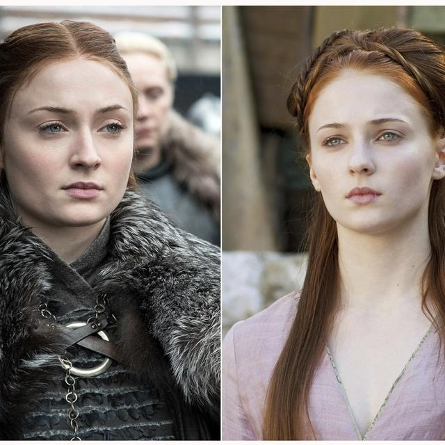 FIRE, ICE AND PUBERTY: HOW 'GAME OF THRONES' CHARACTERS HAVE GROWN