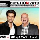LOK SABHA ELECTIONS 2019: HRITHIK ROSHAN ARRIVES WITH FAMILY TO EXERCISE FRANCHISE, JOINS BOLLYWOOD IN CELEBRATING BALLOT