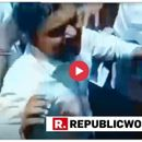 """WATCH   CLASHES ERUPT BETWEEN CONGRESS-BJP WORKERS IN INDORE OVER """"MODI MODI"""" AND """"CHOWKIDAR CHOR HAI"""" SLOGANEERING"""