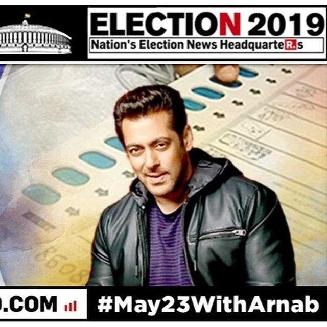 WATCH: SALMAN KHAN ARRIVES AT A POLLING BOOTH IN BANDRA TO CAST HIS VOTE IN PHASE 4 OF THE 2019 LOK SABHA ELECTIONS