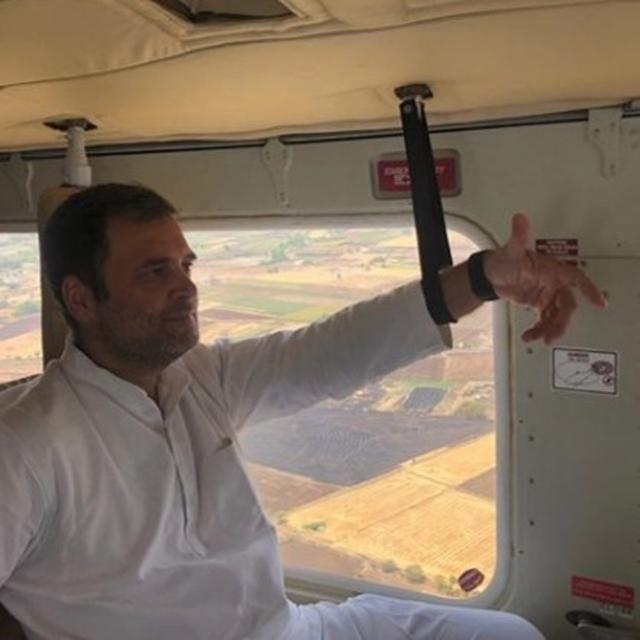 """'JOURNEY IS AS IMPORTANT AS THE DESTINATION"""": RAHUL GANDHI'S CHEEKY SEQUEL TO HIS BANTER WITH SISTER PRIYANKA ON TRAVELLING IN HELICOPTERS"""