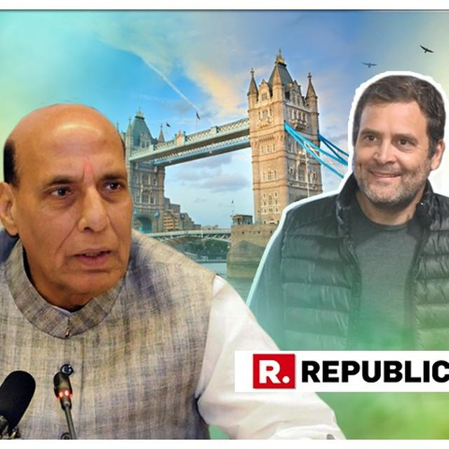 WATCH: HOME MINISTER RAJNATH SINGH CLARIFIES OVER TIMING OF NOTICE TO RAHUL GANDHI OVER HIS CITIZENSHIP