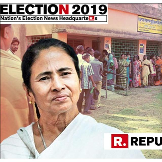 EC ANNOUNCES DEPLOYMENT OF 100% CENTRAL FORCES TO COVER ELECTION BOOTHS IN WEST BENGAL FOLLOWING POLL VIOLENCE IN FIRST FOUR PHASES OF 2019 LOK SABHA ELECTIONS