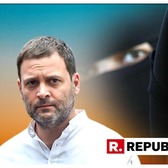 WATCH: CONGRESS ACCUSES THE MODI GOVERNMENT OF APPEASEMENT POLITICS WHILE REACTING TO SHIV SENA'S BURQA BAN DEMAND TO THE MODI GOVERNMENT