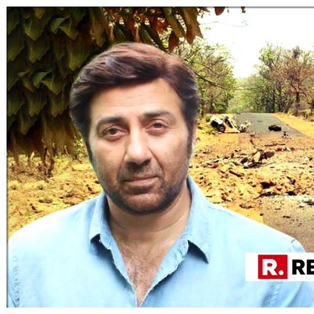 SUNNY DEOL PAYS HIS TRIBUTE TO THE MARTYRS WHO LOST THEIR LIVES IN THE HORRIFIC ATTACK IN GADCHIROLI, READ WHAT HE SAID