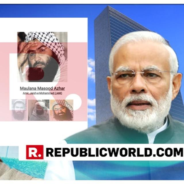 ACCESSED: INDIA'S MASOOD AZHAR DOSSIER