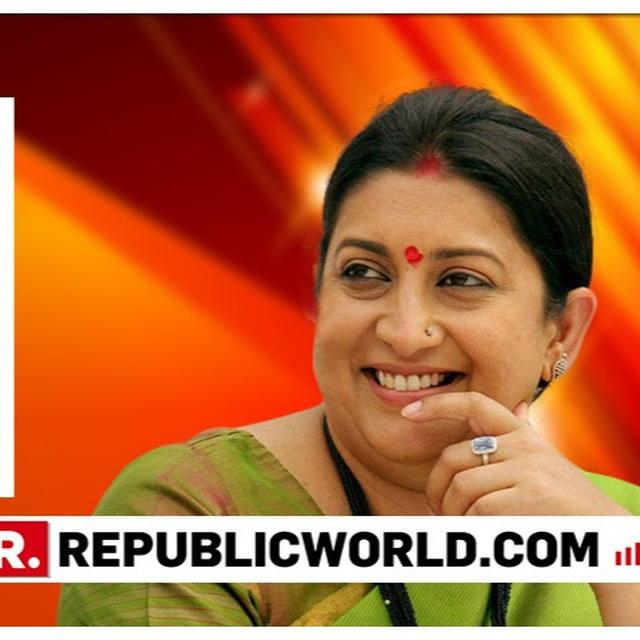 CBSE RESULTS: HERE'S WHY A DOUBLY-PROUD SMRITI IRANI SAYS SHE'S A 'GLOATING MOM' TODAY