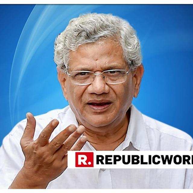 'RAMAYANA AND MAHABHARATA ARE FILLED WITH VIOLENCE,' SAYS SITARAM YECHURY, ASKING 'STILL YOU CLAIM HINDUS CAN'T BE VIOLENT?'