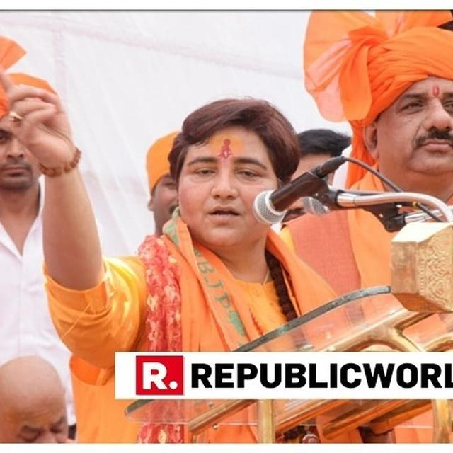 BHOPAL DISTRICT ELECTION OFFICER ISSUES NOTICE TO BJP CANDIDATE SADHVI PRAGYA THAKUR OVER VIOLATION OF MODEL CODE OF CONDUCT. DETAILS HERE