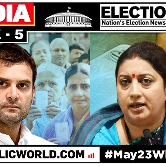 WATCH: HERE'S WHAT SMRITI IRANI HAS TO SAY ON CONGRESS CHIEF RAHUL GANDHI CANCELLING HIS VISIT TO AMETHI ON POLLING DAY