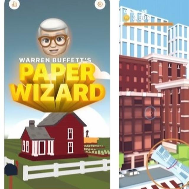 Apple's New iPhone Game Makes You Warren Buffett With Warren Bucks In The World Of Newspapers, Check Out Now