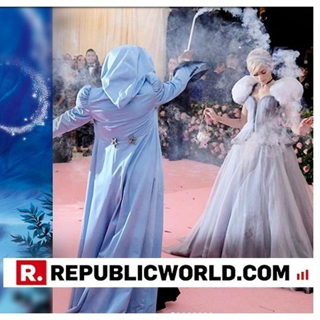 MUST WATCH: ZENDAYA MAGICALLY RECREATES THIS ICONIC SCENE FROM CINDERELLA AT MET GALA 2019, GLASS SLIPPERS AND ALL
