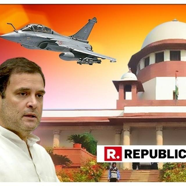 MASSIVE: RAHUL TENDERS UNCONDITIONAL APOLOGY TO SUPREME COURT