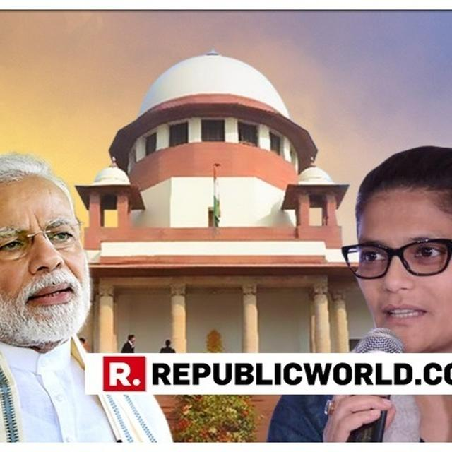 BLOW FOR CONG: SC DISMISSES PLEA SEEKING EC ACTION AGAINST MODI & SHAH