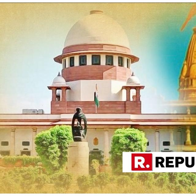BIG: SUPREME COURT TO TAKE UP MEDIATION PANEL'S REPORT IN AYODHYA DISPUTE CASE ON FRIDAY. READ NOTICE