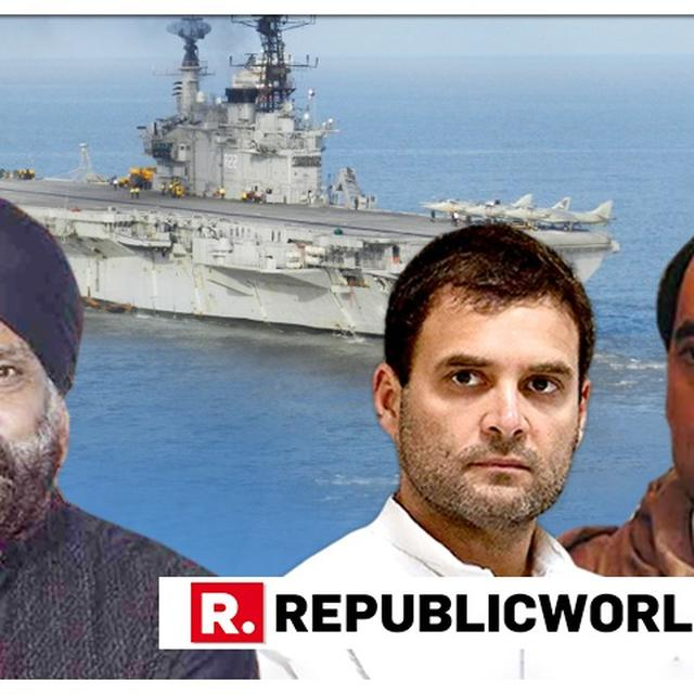 WATCH: 'ABSOLUTELY UNPARDONABLE', SAYS FORMER LT COMMANDER HARINDER SIKKA OVER 'MISUSE' OF INS VIRAAT