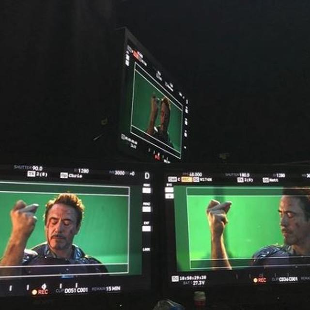 'AVENGERS: ENDGAME': IRON MAN ROBERT DOWNEY JR SHARES BTS PICTURES OF THE ULTIMATE ANTI-THANOS SNAP
