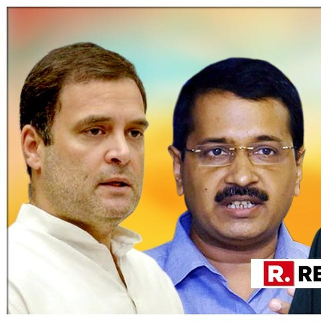 Rahul Gandhi responsible if Modi comes back to power, Cong harming opposition: Kejriwal