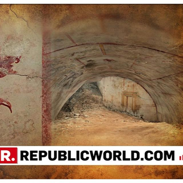SECRET CHAMBER: ARCHAEOLOGISTS FIND OPENING DECORATED WITH CENTAURS AND A SPHINX INSIDE NERO'S PALACE IN ROME. PICTURES INSIDE