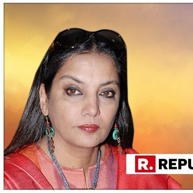 SHABANA AZMI CLARIFIES HER STAND ON 'WILL LEAVE THE COUNTRY IF MODI BECOMES PM' STATEMENT, HERE'S WHAT SHE SAID